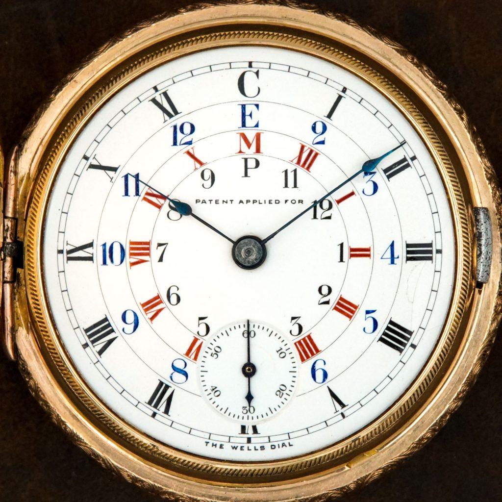 The Wells Dial - Elgin Grade 149