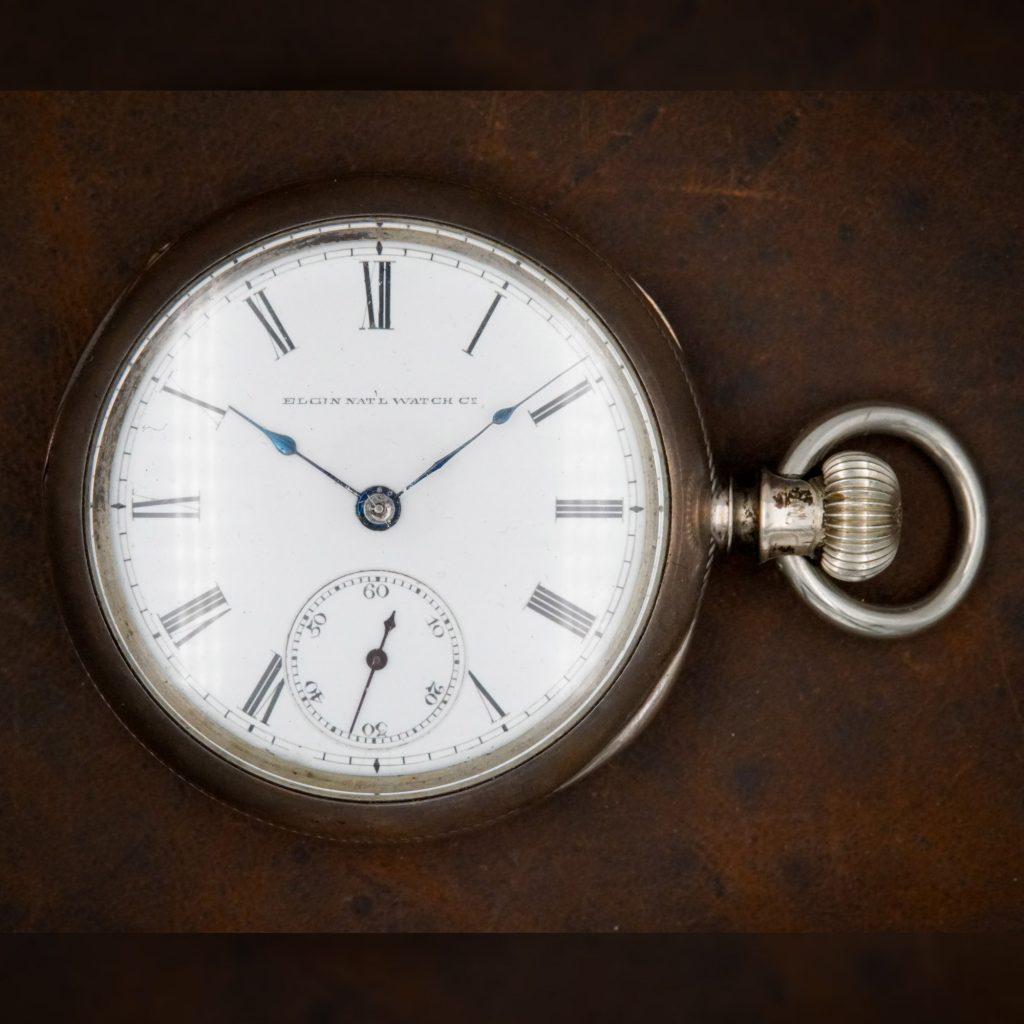 "Elgin National Watch Co. ""Sidewinder"" Watch, Grade H.H. Taylor, c.1875."