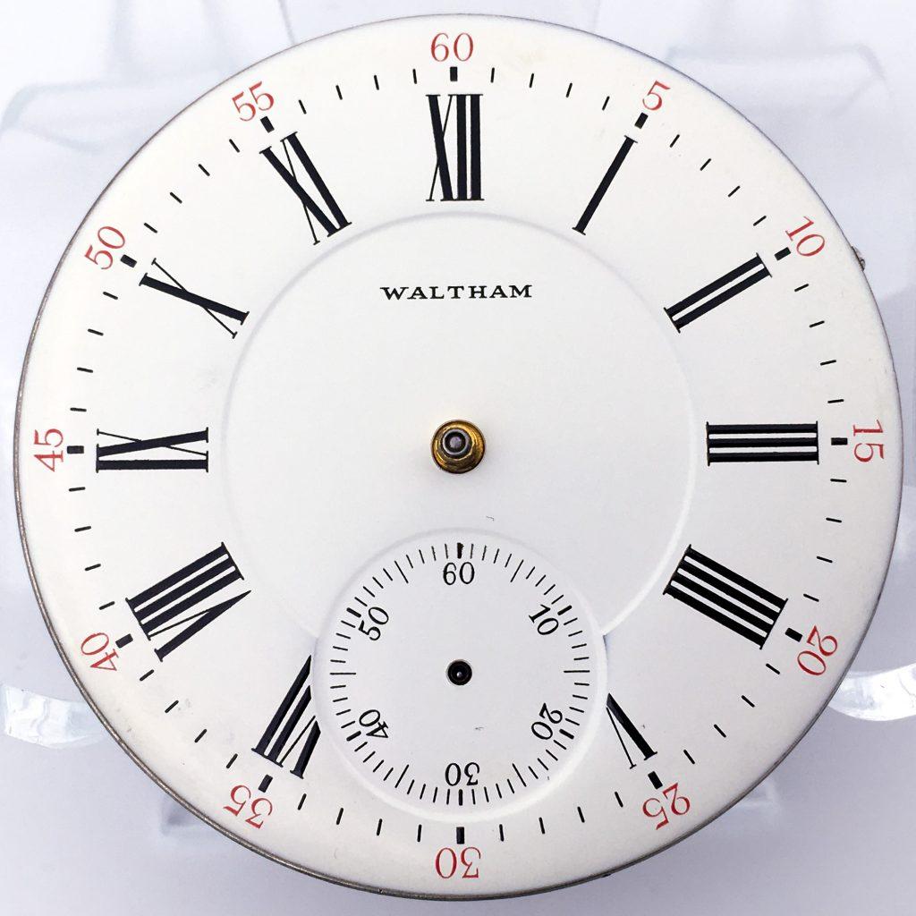 S. LaRose Metal Waltham Replacement Dial, c.1980s.