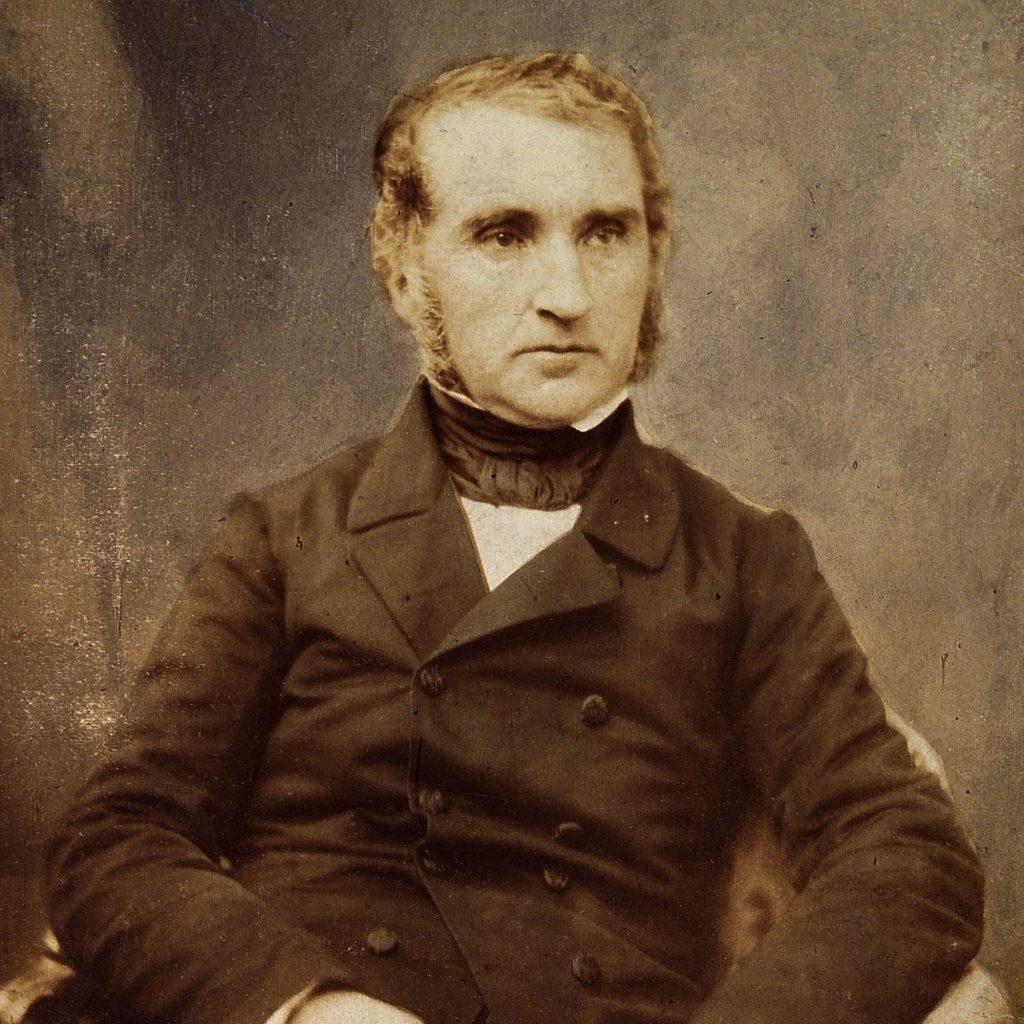 Portrait of German Chemist Justus von Liebig