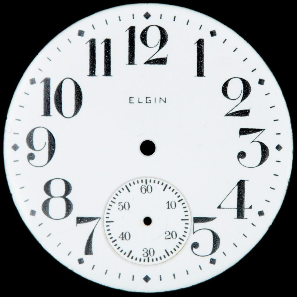 Elgin National Watch Company No. 49 (No. 2637) Single-Sunk Dial