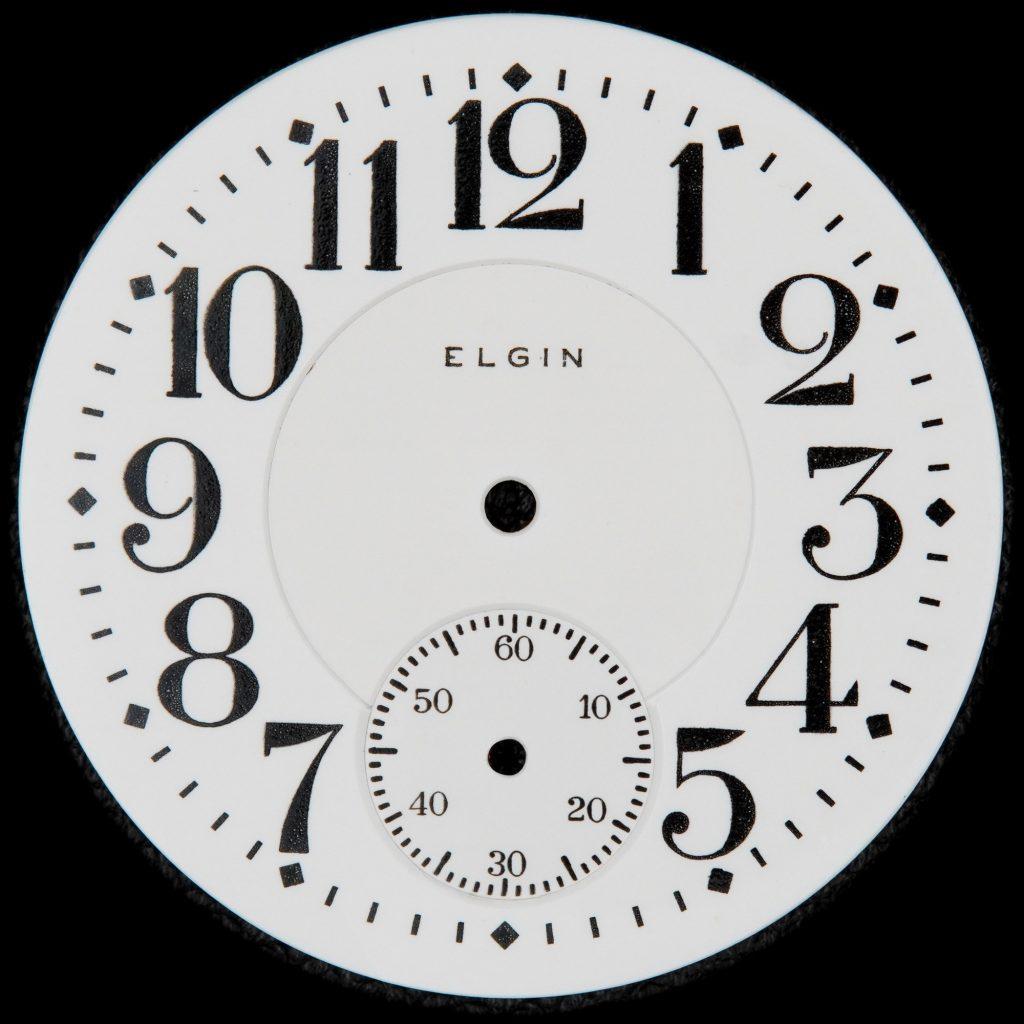 Elgin National Watch Company No. 49 Railroad Dial