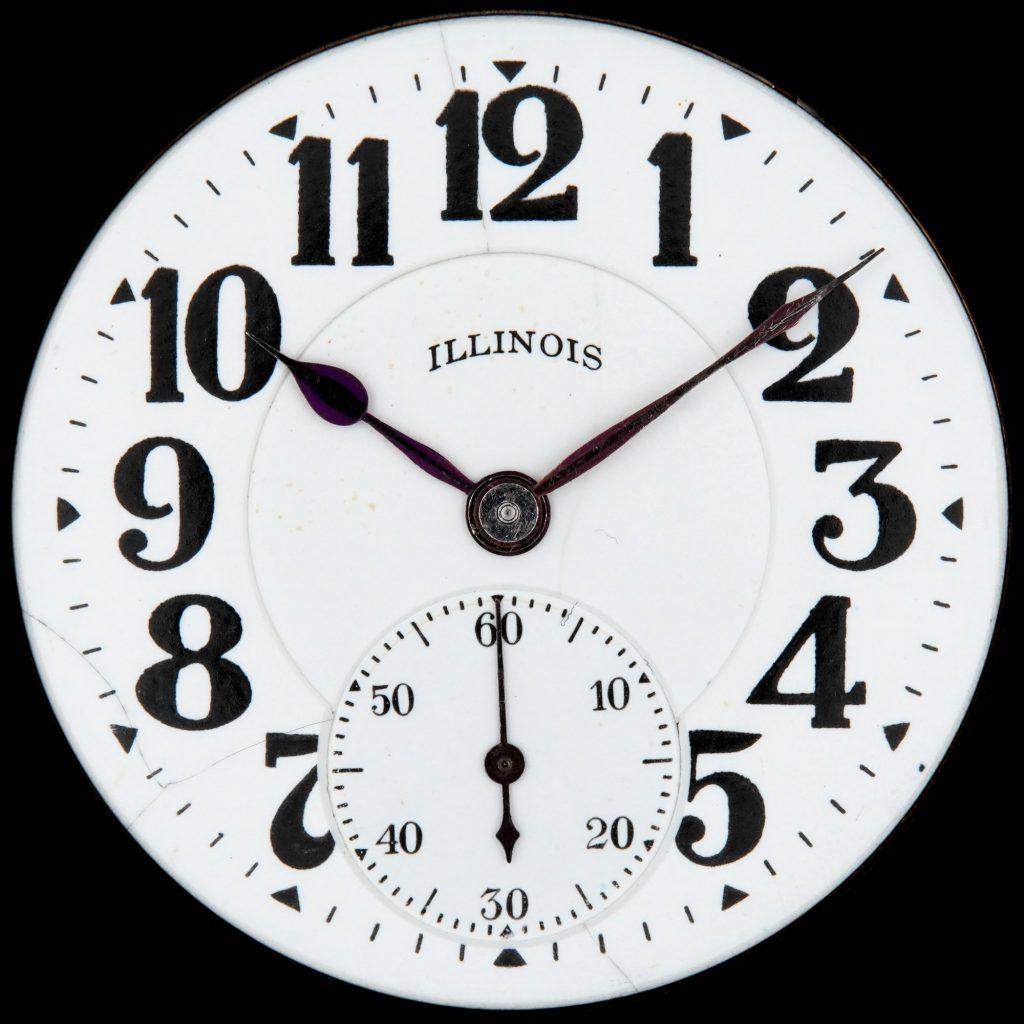 Illinois Watch Company Railroad Dial No. 114 (Bunn Special Dial), c.1922